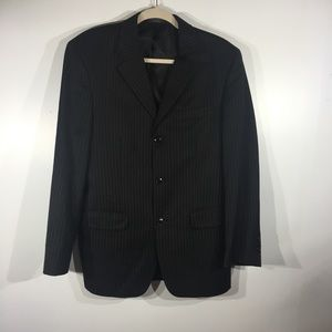 Jones NY Grey Pin Stripe Blazer